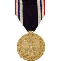 Genuine U.S. FULL SIZE MEDAL: PRISONER OF WAR - 24K GOLD PLATED