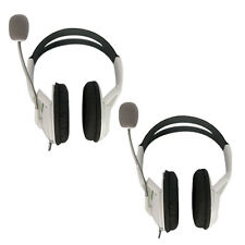 2 Packs Live Headset Headphone with Microphone for XBOX 360 Wireless Controller