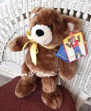 "NWT Build-A-Bear BEAREMY III BROWN MASCOT 14"" TEDDY Plush Stuffed Animal"