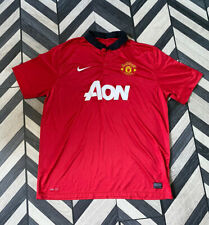 Manchester United 2013-14 Home Shirt | Nike | Size: XXL| Great Condition