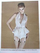 Publicité  vetements haute Couture GIVENCHY par Riccardo Tisci    REF  6641