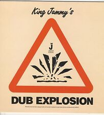 KING JAMMY Title: DUB EXPLOSION NEW CD £9.99