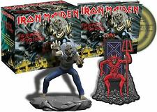 IRON MAIDEN The Number Of The Beast Ltd Edition CD Box Set + Eddie Figurine -NEW