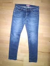 Jeans-Hose H&M Sqin Fit/Boot Cut Gr.38,Länge 105 cm (J1653)