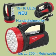 XXL Taschenlampe Handscheinwerfer Akku-Handlampe 2 in 1 LED 200m Standlampe NEU