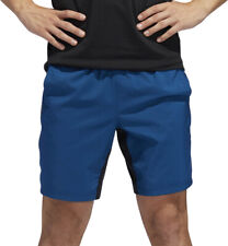 adidas 4KRFT Tech Woven 3 Stripe Mens Training Shorts - Blue