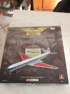 Aereo Corgi Jetliners D.H Comet British European Airways Limited Edition 1:144