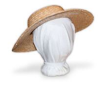 Austentation Diy Blank Victorian / Civil War Straw Hat for Young Woman or Child