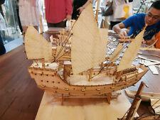 china wood sail boat Fujian ship Wooden model kit