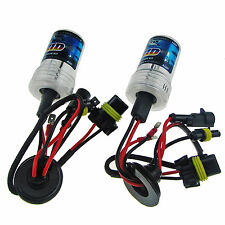 1 Pair 6000K 55W HID Bulbs Xenon Cars Front Headlight Replacement H10 9005