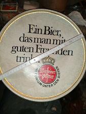 Warsteiner Werbung Keramikteller Wandbehang