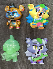 Funko Mystery Mini's: Five Nights at Freddy's - Security Breach*Lot Of 4*RARE!!