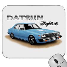 78' 79' DATSUN  SKYLINE  C210  SEDAN   NISSAN    MOUSE PAD   MOUSE MAT