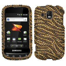 For Samsung Transform Ultra M930 Crystal Diamond BLING Case Phone Cover Tiger