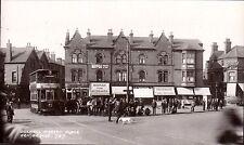 Bulwell between Hucknall & Nottingham. Market Place # 727 in Rex Series. Tram.