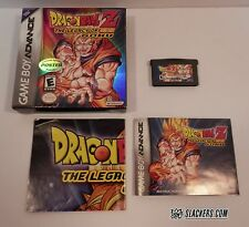Dragon Ball Z THE LEGACY OF GOKU #1 (Game Boy Advance) COMPLETE GBA w/Poster RPG