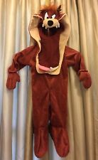 Taz Tasmanian Devil Looney Tunes Cartoon Animal Halloween Baby Costume 6-12month