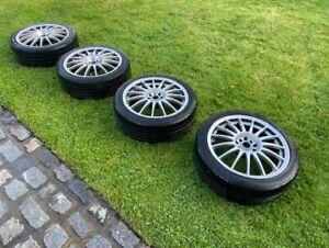 "Team Dynamics Monza R 17"" Multi-Spoke Alloy Wheels & Tyres Full Set"