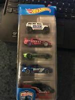2015 HOT WHEELS POLICE PURSUIT 5-PACK