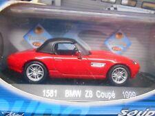 Bmw z8 roadster v8 e52 1999 red rojo precio especial solido 1:43