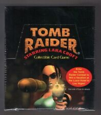 1999 LARA CROFT TOMB RAIDER NEPTUNES FURY QUEST COLLECTIBLE CARD GAME SEALED BOX