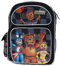 "Five Nights at Freddy's 16"" Large School Backpack Boy Backpack Freddy"