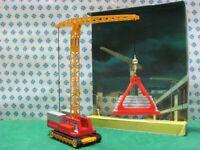 Vintage - SKYSCRAPER TOWER CRANE - Corgi toys Major 1155 - Made in Gt. Britain