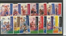 Football Australian Stamp Booklets