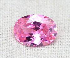 Pink Sapphire 8.23Ct 10x12mm Oval Faceted Cut Shape AAAAA VVS Loose Gemstone