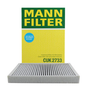 Cabin Air Filter MANN CUK 2733 For Volvo S80 V70 XC70 XC60 S60 Land Rover LR2