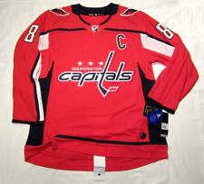 ALEXANDER OVECHKIN sz 52 = Large - Washington Capitals ADIDAS NHL Hockey Jersey