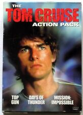 *VG*Tom Cruise DVD Action Pack (Top Gun / Days of Thunder / Mission Impossible)