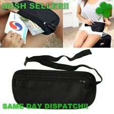 Waist Bag Travel Bag Money Bag Money Belt Bum Bag Fanny Pack black Regular