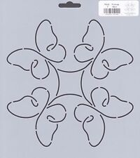 Quilting Stencil Template - Butterfly Design - Made in the US