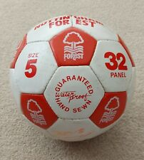 More details for vintage signed nottingham forest ball late 80s early 90s nigel clough crosby etc
