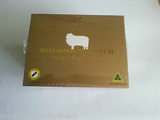 3 Boxes Well Being Nutrition Sheep Placenta 50000mg 300 Capsules Total