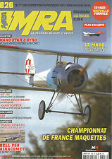 MRA N)826 PLAN : LE MAKO / NANO STAR 3 GYRO / DOGFIGHTER / BELL P59 AIRACOMET