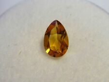Citrine Pear Cut Gemstone 6 mm x 4 mm 0.40 carat Gem Yellow Stone