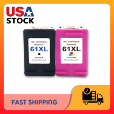Lot 61 XL Black & Color Ink Cartridges for HP Envy 4500 5530 5534 5535