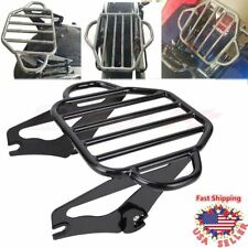 Detachable Two-Up Luggage Rack For Harley Touring Road Street Glide King 09-18