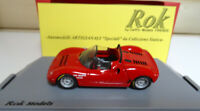 Rok Models by Carpin Fiat Abarth 1000 SP 1966 1:43 scale Factory Built Mint