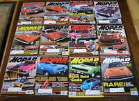 MOPAR ACTION Car Magazine Random Lot Box - 16 Complete Issues