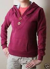 Paul Frank Wooden V Neck Pullover Hoodie (S) Purple