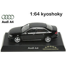 Black Kyosho 1:64 AUDI A4 Diecast Model Car Mint 1/64 2007 limited edition