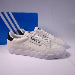 Size 9.5 Men's adidas Originals Continental Vulc Sneakers EG4589 Off White