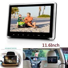 "11.6"" Car Monitor Headrest 1080P HD Car DVD Player With HDMI/FM/IR/USB/SD/Game"