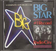 BIG STAR 1 Record Radio City 2 ALBUMS 1 CD 24 track 1972-1990 ALEX CHILTON