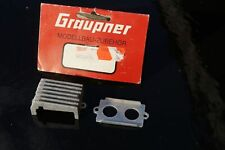 Graupner Kyosho 4935/74 Ersatzteil Motor Kühlung vintage rare neu ovp 80er Jahre