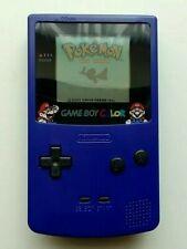 Nintendo Game Boy Color Mario Grape / Purple Handheld System - CGB-001