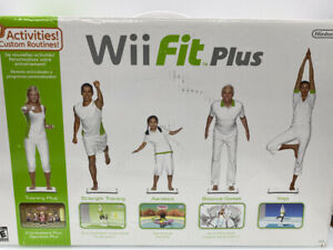 Wii Fit Plus Balance Board Nintendo Exercise Fitness *BOARD ONLY